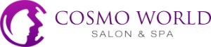 Cosmo world salon and spa logo