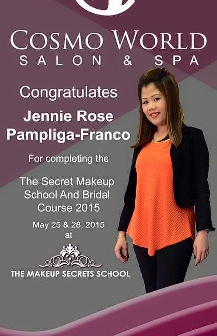 Congratulations Jennierose Pampliga Franco